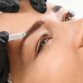 What kind of ink is used in Microblading?